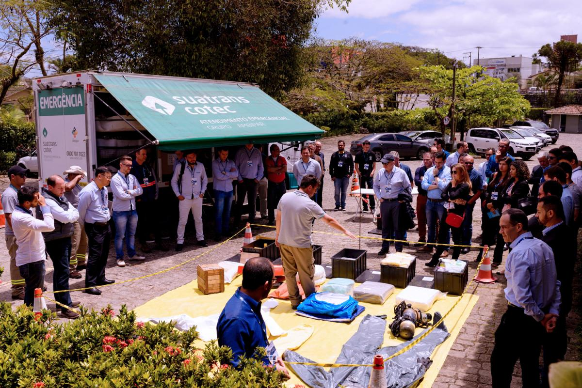 methanol safety workshop and open-door event at our Cattalini methanol storage terminal in Brazil