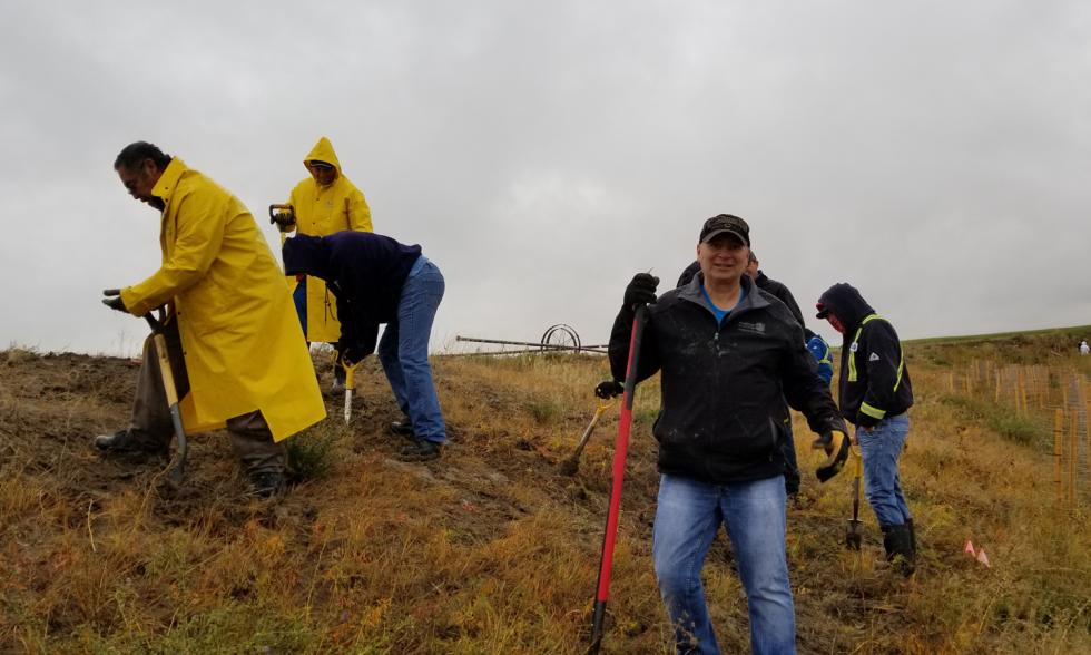 Medicine Hat - restoration work for the South East Alberta Watershed Alliance